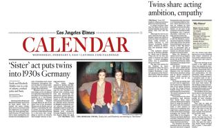 LA Times Article- photo cred. Genaro Molina
