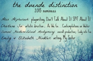 Winners of the Duende Distinction Award